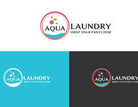 #14 for Design a Logo for AQUA LAUNDRY & DRY CLEANING af babugmunna
