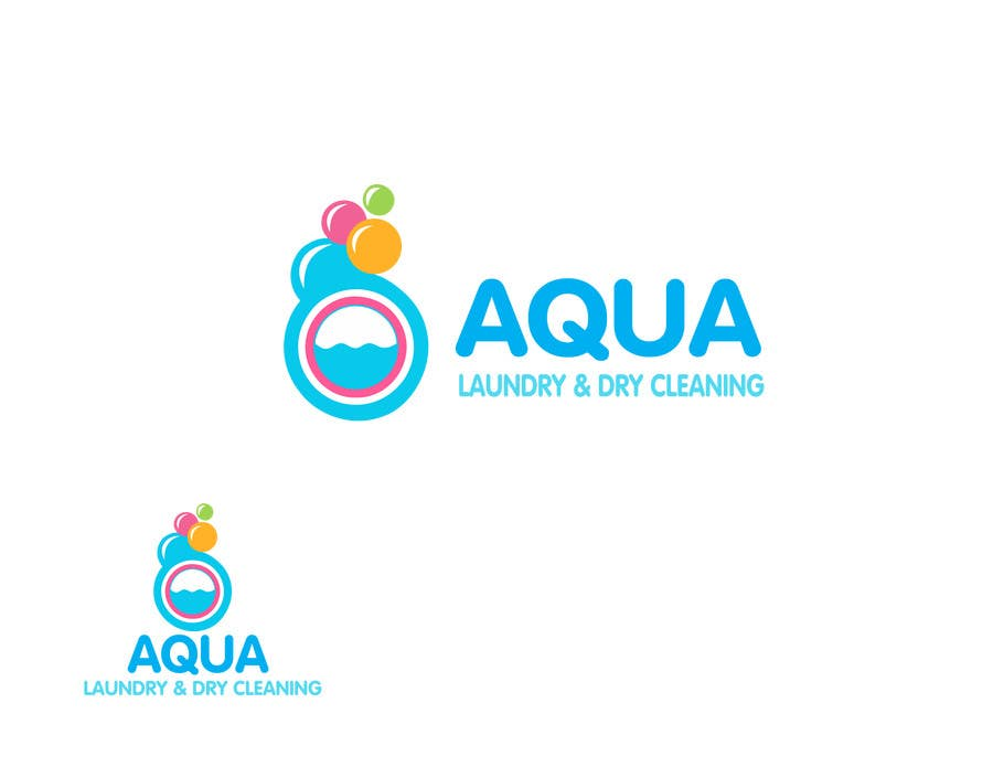 Contest Entry #                                        63                                      for                                         Design a Logo for AQUA LAUNDRY & DRY CLEANING