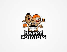 omenarianda tarafından Design a Logo for Happy Potatoes Gift store için no 34