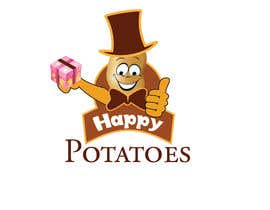 abutt1974 tarafından Design a Logo for Happy Potatoes Gift store için no 33