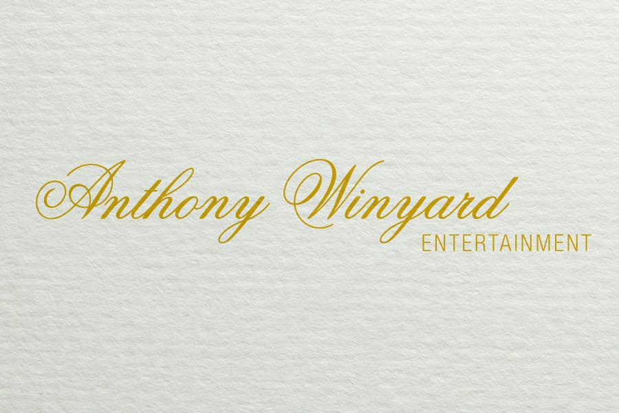 Konkurrenceindlæg #                                        11                                      for                                         Graphic Design- Company logo for Anthony Winyard Entertainment