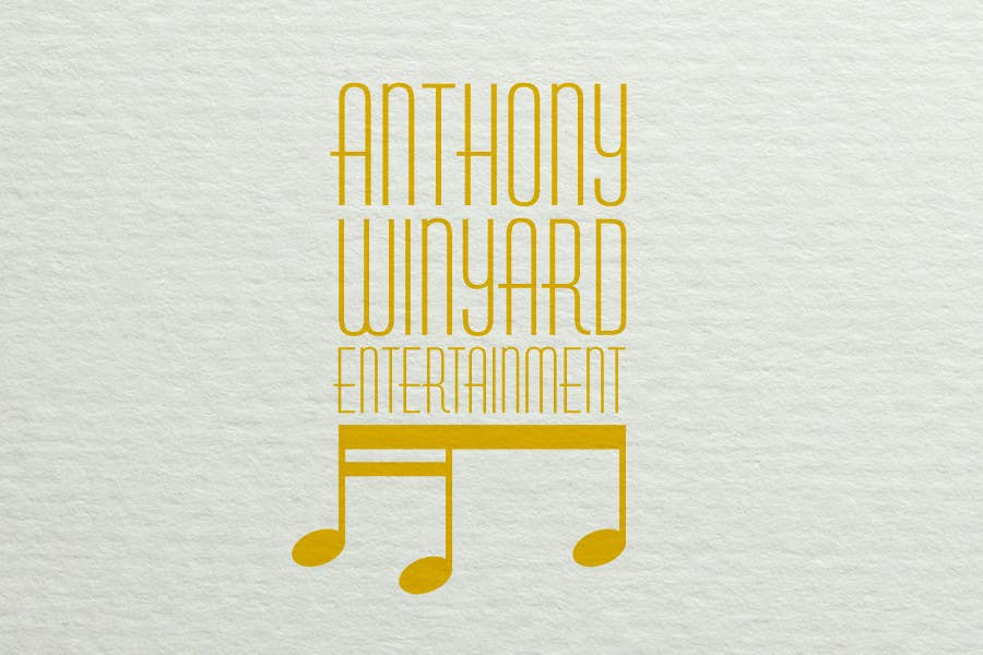 Konkurrenceindlæg #                                        12                                      for                                         Graphic Design- Company logo for Anthony Winyard Entertainment
