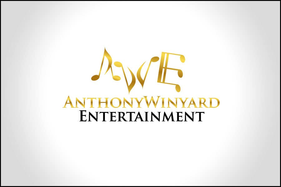 Konkurrenceindlæg #                                        37                                      for                                         Graphic Design- Company logo for Anthony Winyard Entertainment