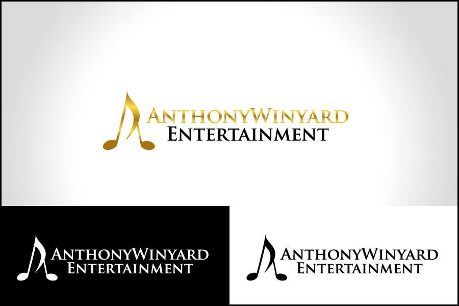 Konkurrenceindlæg #                                        26                                      for                                         Graphic Design- Company logo for Anthony Winyard Entertainment