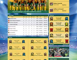 #5 para Re-Create Standings Page for Sports Site por rginfosystems