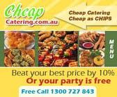 Graphic Design Inscrição do Concurso Nº20 para Design a Banner for cheapcatering.com.au