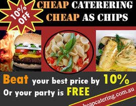 #14 for Design a Banner for cheapcatering.com.au by designfrenzy