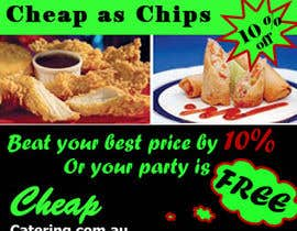 #15 for Design a Banner for cheapcatering.com.au by TechnosparkTech