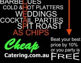 nº 12 pour Design a Banner for cheapcatering.com.au par BuildaJob