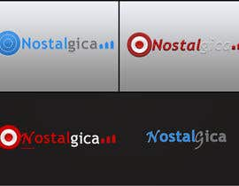 "#61 for Design a Logo for ""Nostalgica"" by sajal12"