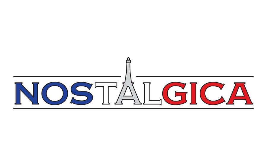 "Proposition n°55 du concours Design a Logo for ""Nostalgica"""