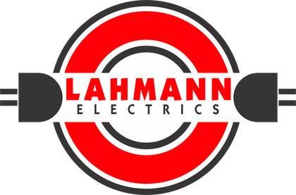 Nro 24 kilpailuun Design a Logo for  Lahmann Electrics käyttäjältä rajkumar3219