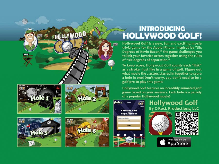 Contest Entry #4 for Design a Flyer for an iPhone Game
