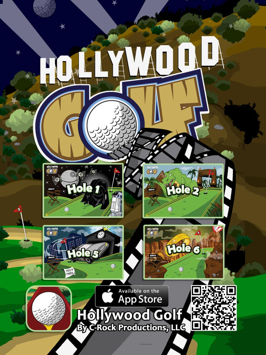 Flyer Design Contest Entry #11 for Design a Flyer for an iPhone Game