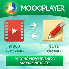 Inscrição nº 32 do Concurso para Design a Banner for a note taking app for video trainings