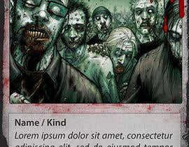emarquez19 tarafından Design Trading Card for Zombies Card Game için no 25