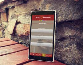 nº 4 pour Design an App Mockup for Lawyer App par mahiweb123
