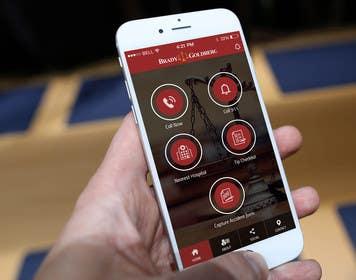 #10 cho Design an App Mockup for Lawyer App bởi ankisethiya