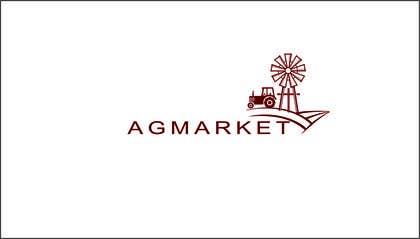 Nro 416 kilpailuun Design a Logo for agmarket käyttäjältä AramDesigne