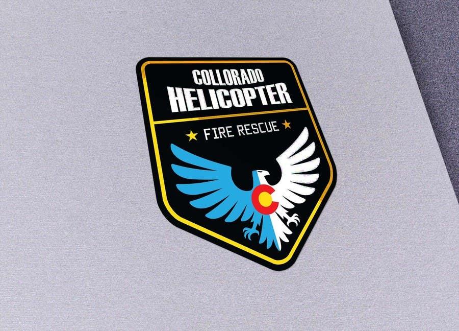 Kilpailutyö #9 kilpailussa Design a Logo for Colorado Helicopter Fire Crew