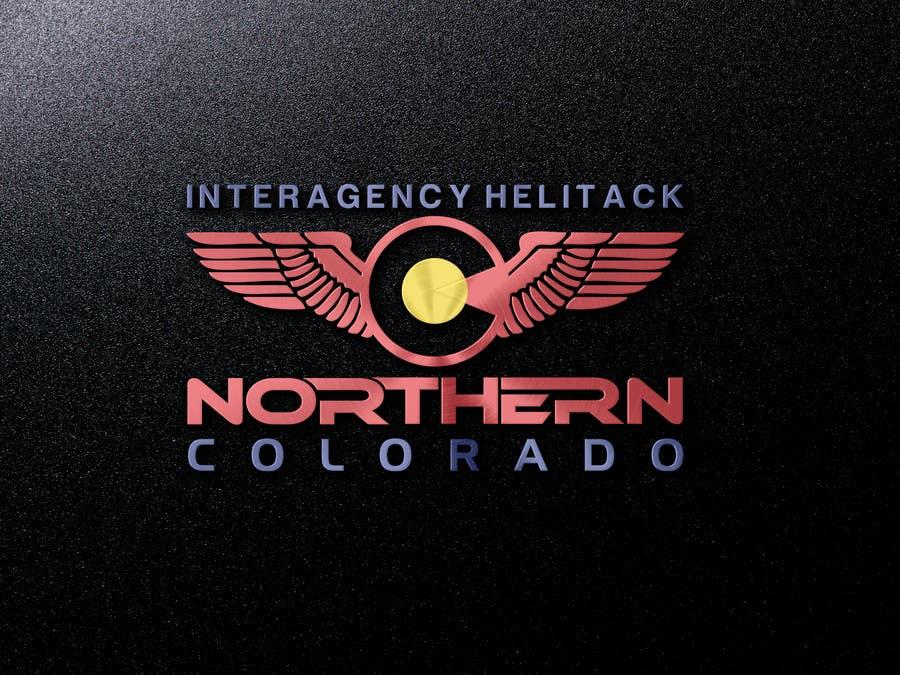 Kilpailutyö #50 kilpailussa Design a Logo for Colorado Helicopter Fire Crew