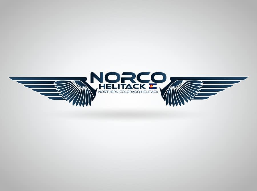 Kilpailutyö #17 kilpailussa Design a Logo for Colorado Helicopter Fire Crew