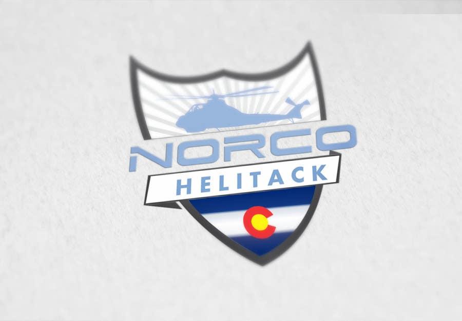 Kilpailutyö #18 kilpailussa Design a Logo for Colorado Helicopter Fire Crew