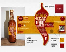 #127 cho Graphic Design for Chilli Sauce label bởi Macario88