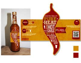 #119 для Graphic Design for Chilli Sauce label від Macario88