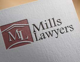 nº 60 pour Design a Logo for Mills Lawyers par open2010