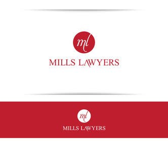 #62 cho Design a Logo for Mills Lawyers bởi SergiuDorin