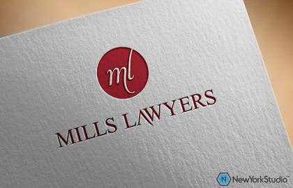 #63 cho Design a Logo for Mills Lawyers bởi SergiuDorin