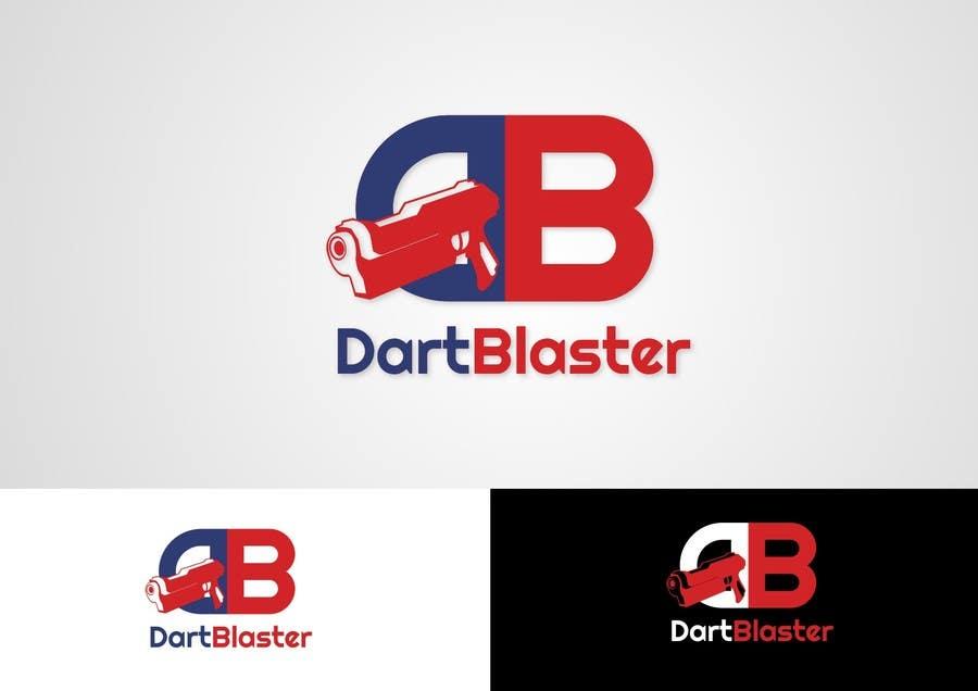 Kilpailutyö #20 kilpailussa Logo Design for Dartblaster Website