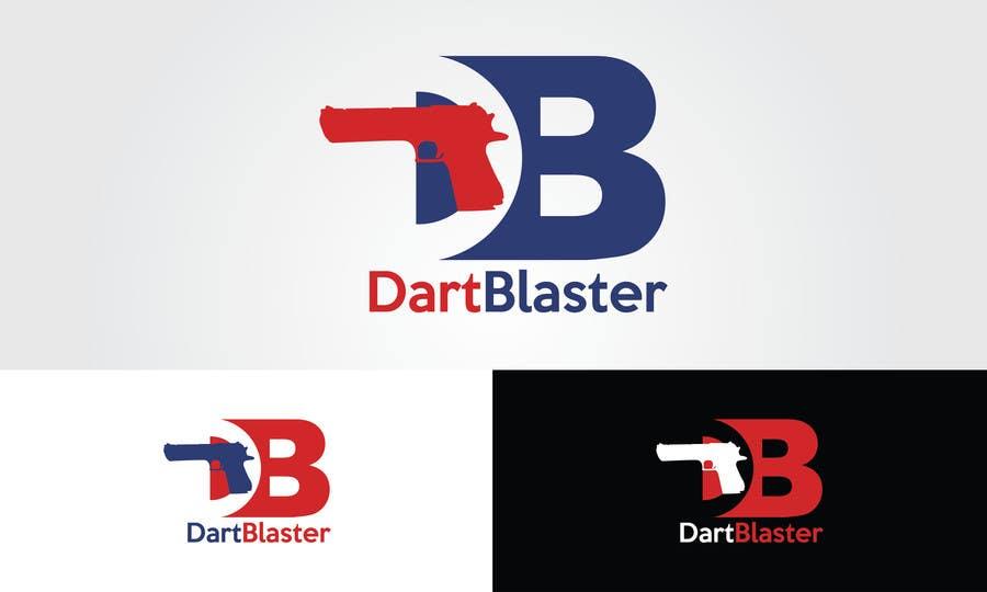 Konkurrenceindlæg #                                        53                                      for                                         Logo Design for Dartblaster Website