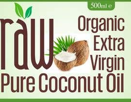 #30 untuk Design our logo and product label - Coconut Oil oleh designart65