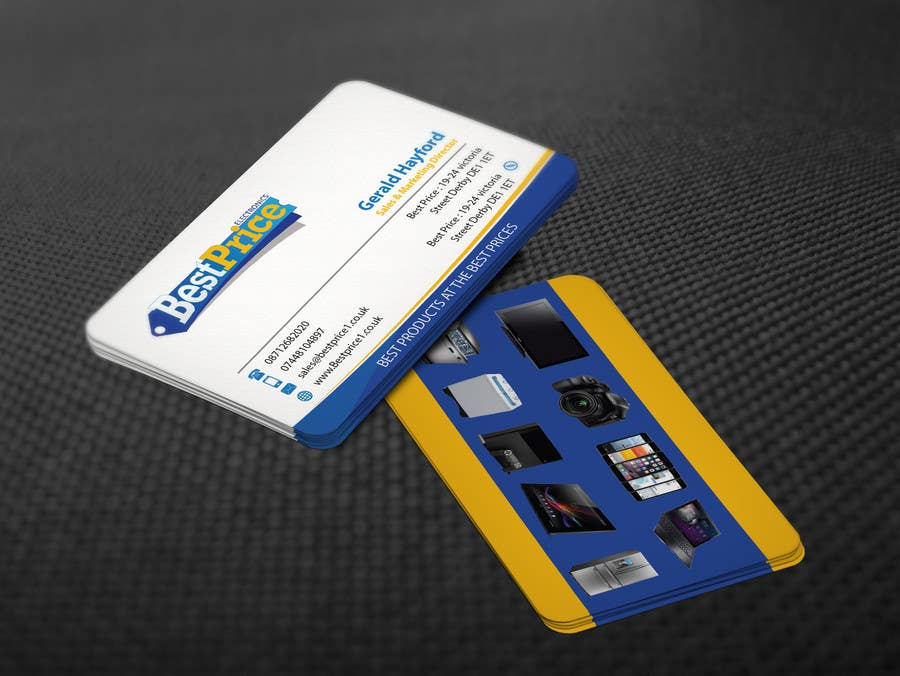 Penyertaan Peraduan #8 untuk Design some Business Cards for best price