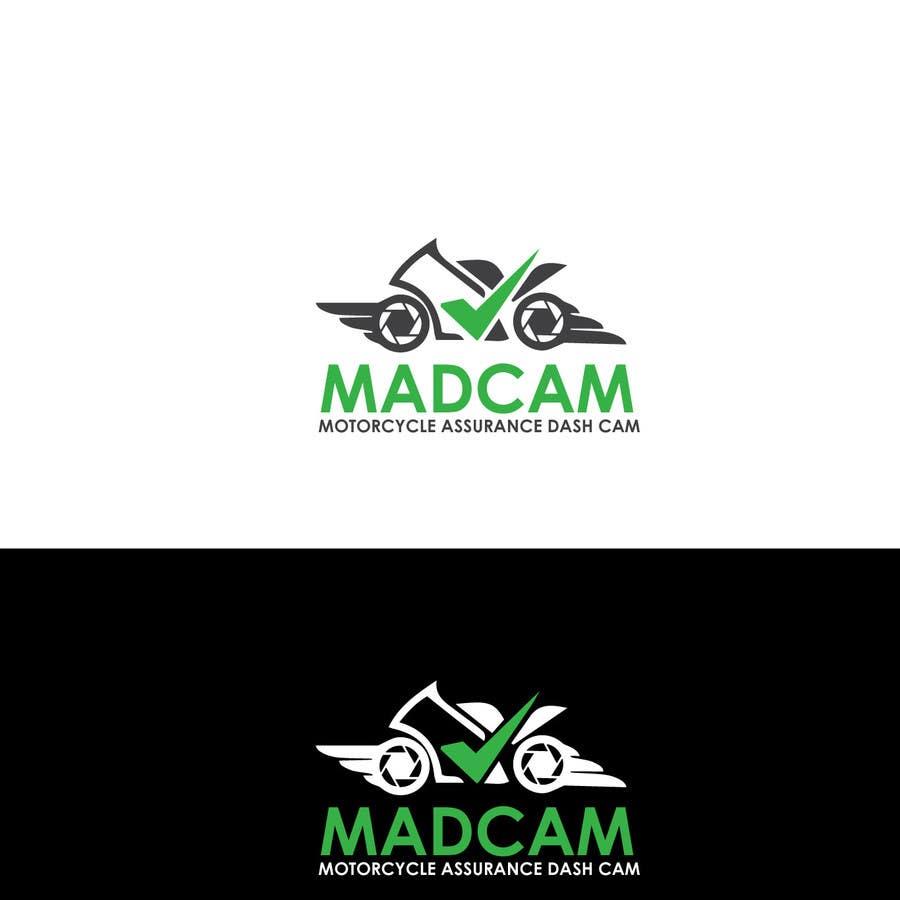 Konkurrenceindlæg #                                        3                                      for                                         Design a Logo & App Icon for MAD Cam (Motorcycle Assurance Dash Cam app)
