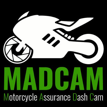 Konkurrenceindlæg #                                        6                                      for                                         Design a Logo & App Icon for MAD Cam (Motorcycle Assurance Dash Cam app)