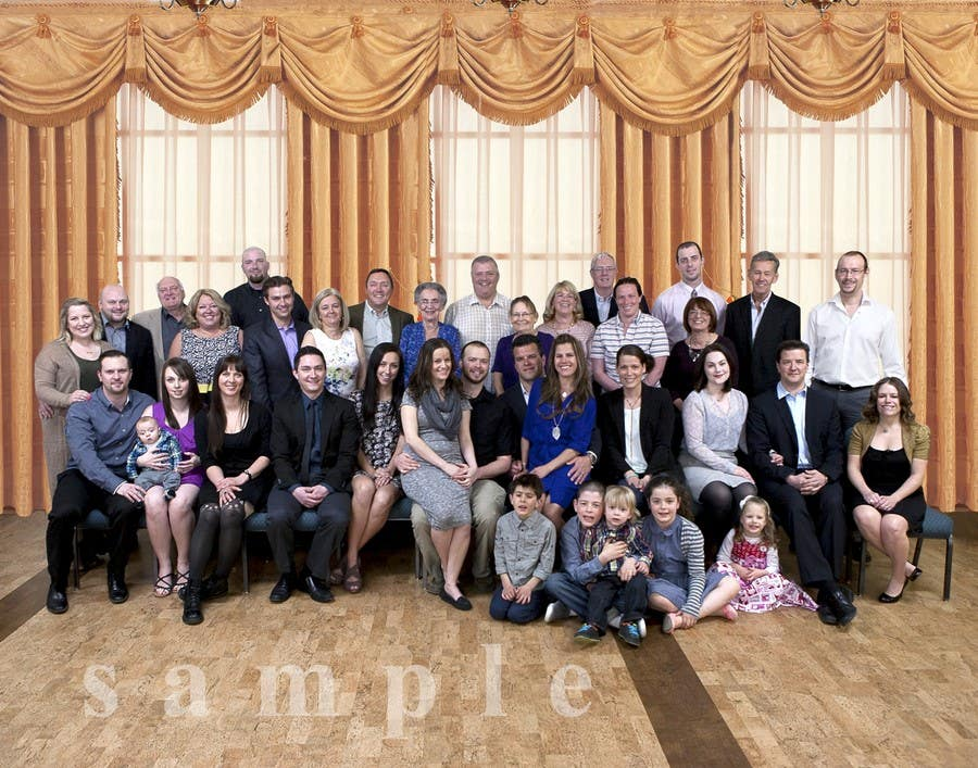 Bài tham dự cuộc thi #22 cho 4 Generation family photo edit