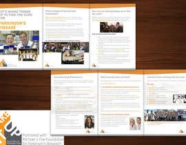 stt2design tarafından Design a  A5 Tri fold Brochure (A5 when closed) for a Not for Profit Foundation için no 5
