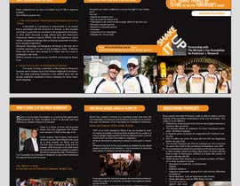 #15 para Design a  A5 Tri fold Brochure (A5 when closed) for a Not for Profit Foundation por mjuliakbar