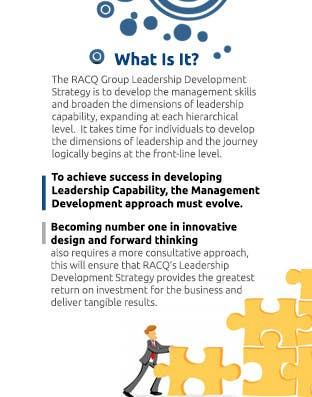 Proposition n°                                        4                                      du concours                                         Design a proposal for A Leadership Development/Training Strategy