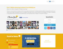 #13 untuk Design the homepage of my website oleh webmastersud