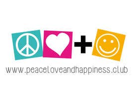 iva440 tarafından Design a Logo for www.peaceloveandhappiness.club için no 15