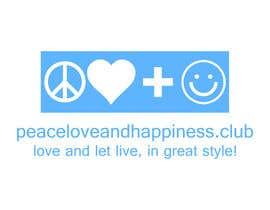 #11 for Design a Logo for www.peaceloveandhappiness.club by suyogapurwana