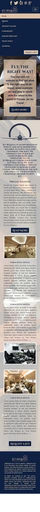 Graphic Design konkurrenceindlæg #24 til Design a Website Mockup for Private Jet company