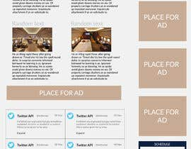 Mince321 tarafından Design a Website Mockup for Private Jet company için no 9