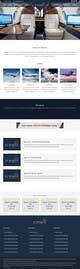 Konkurrenceindlæg #                                                12                                              billede for                                                 Design a Website Mockup for Private Jet company