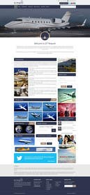 #16 cho Design a Website Mockup for Private Jet company bởi ankisethiya