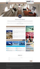 #17 cho Design a Website Mockup for Private Jet company bởi ankisethiya